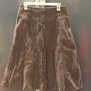 J-Jill corduroy skirt 6